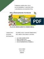 POT - Planificacion de Ordenamiento territorial