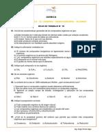 HT 10 - Química orgánica, El carbono, Hidrocarburos