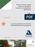 La guianza profesional en Colombia