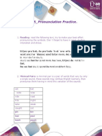 English Phonetics_ Task 5_Pronunciation Practice.
