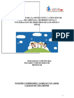 Protocolo de vulneracion de derechos  2020
