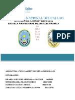 Informe de PSD