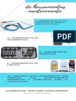 Tipos de herramientas para mantenimiento