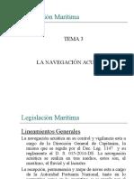 Tema 3 - La Navegación Acuática