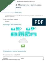 Laboratorio 23 Monitoree el sistema con Cisco Unified RTMT_CCNA VOICE