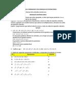 OPERACIONES COMBINADAS CON JERARQUIA DE OPERACIONES