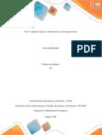 Plantilla - Fase 4- Apropiar el proceso Administrativo en las organizaciones
