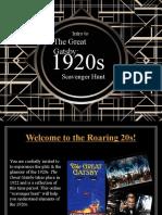 Gatsby Scavenger Hunt