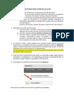 INDICACIONES PARA LA PRÁCTICA DE LA PC1