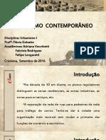 URBANISMO CONTEMPORÂNEO