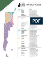 MAPA FILIALES Y FACULTADES - ANEIC ARGENTINA (2)