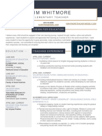 kim whitmore- education resume