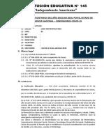 PLAN DE CLASES A DISTANCIA -IE-145