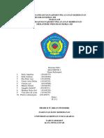 Makalah Organisasi Manajemen Pelayanan Kebidanan Mekanisme Program Kerja Kb