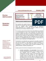 Quarterly Report Octubre 2010