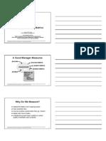 Project Managment Metrics