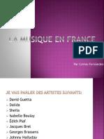 La Musique en France - Carlos FernáNdez 4ºA