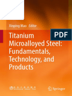 Titanium Microalloyed Steel_ Fundamentals, Technology, and Products ( 321pgs )