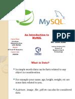MySQL-Unit-1