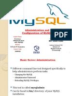 MySQL Administration & Configuration-Unit-2