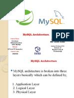 MySQL Architecture-Unit-2