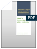 Quality-Management-Six-Sigma-Research-Document