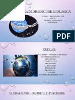 Globalizarea în dimensiune ecologică