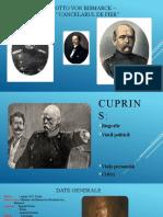 Proiect - Otto von Bismarck - ISTORIA RELAȚIILOR INTERNAȚIONALE