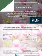 CINETICA ENZIMATICA ppt