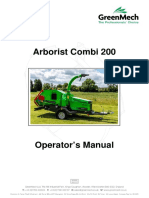 GreenMech - User Manual -- Combi 200 Manual English1