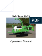 GreenMech - User Manual -- SAFE-Trak 16-23 manual English