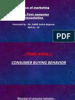 basics of marketing ppt presentation