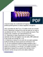 7. Espiras, solenoides y cables rectilíneos (Problemas de clase I)