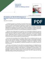 OCDE TALIS 2018 Spain