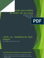 As instruções para análise de estilo de Jan LaRue (SALLES 2018).pdf