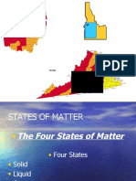 the states of matter chemistry