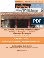 Revised PIM-MAT 2020 (Admission Brochure- 08-06-2020)