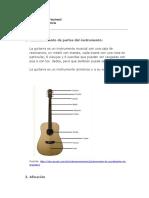 actividad de guitarra