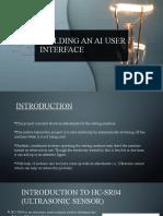 BUILDING AN AI USER INTERFACE