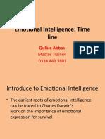 History of Emotional Intelligence