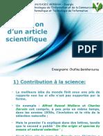 Introduction à la rédaction scientifique