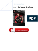 Pat Martino Guitar Anthology Free Download Ebooks