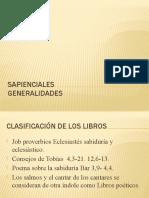 Sapienciales_generalidades