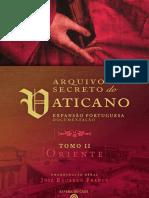 Arquivo Secreto Vaticano - Tomo II