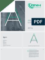 Anuario estadístico ANH 2016