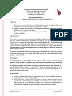 Guía de Laboratorio No. 2 - Curva Característica de una Instalación Hidráulica