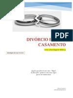 DIVORCIO E NOVO CASAMENTO A LUZ DA BIBLIA