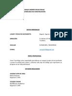 ANDRES ROJAS 2020 PDF inspector de obra