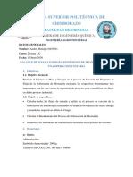 BALANCE DE MASA Y ENERGIA - COCCIÓN - MORTADELA