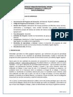 Guía Aprendizaje Evaluar el Desarrollo del PSO